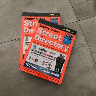 Singapore Street Directory 2018 Edition