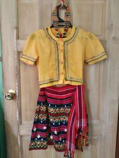 FOR SALE Traditional Filipino Costume Set (Grade 2-4)
