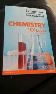 Chemistry quick study guide for o level