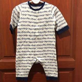 UNIQLO Baby Long Sleeve One Piece Outfit (Disney)