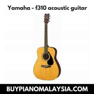 Yamaha - f310 acoustic guitar