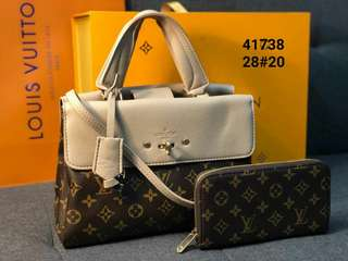 LV HANGBAG SET WALLET