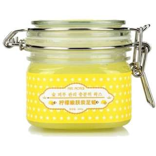 Miss Moter lemon wax perawatan kaki pelembab pelembut