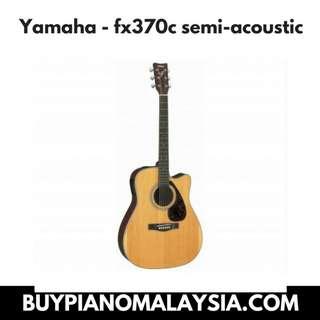 Yamaha - fx370c semi-acoustic