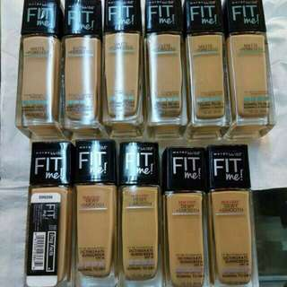 MAYBELLINE FOUNDATION FIT ME