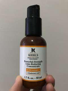 Kiehls VIT C powerful strenghth line reducing concentrate