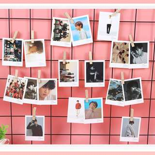 45pcs BTS Bangtan boys lomo card in box decoration Bookmark Planner Kpop Kwave