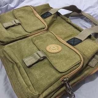Kipling Laptop Bag Brown
