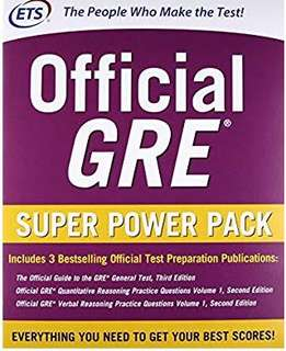 🚚 Official GRE Super Power Pack, Second Edition