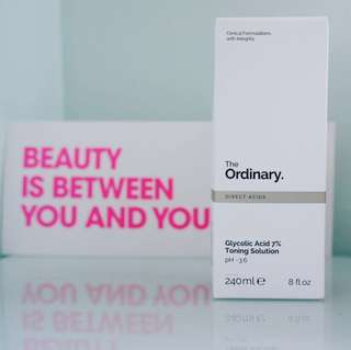 The Ordinary Glycolic Toning Solution