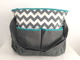 Baby Diaper Bag - Zigzag