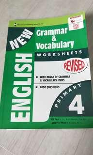 English - grammar & vocabulary