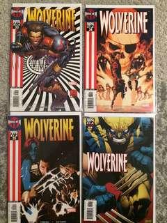 Wolverine #33-40