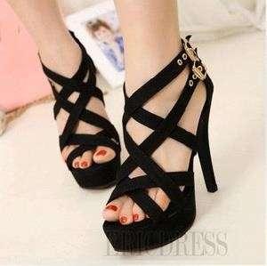 Sepatu high heels 016