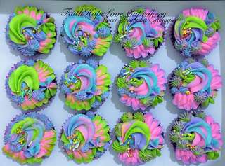 Rainbow Cupcakes (On Sale)