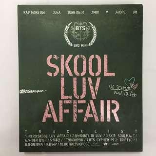 BTS Skool Luv Affair Album