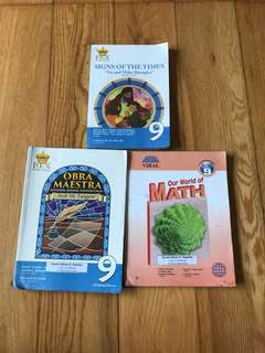 Grade 9 Textbooks For Sale