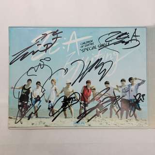 """Signed ZE:A Special Single """"Exciting"""" Album"""