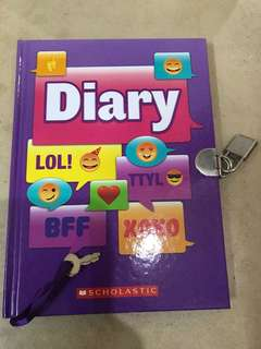 Diary with Lock BN