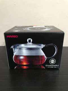 Hario Chamaru Glass Tea Pot 450ml