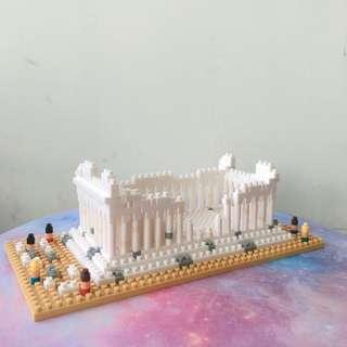 Nanoblock 雅典神殿 NBH_066 The Parthenon