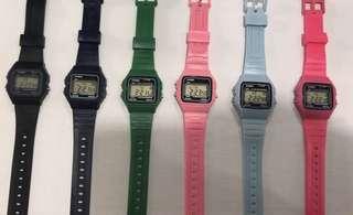 Replica rubber watch Casio
