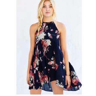 UO - Kimchi Blue High-Low Halter Dress