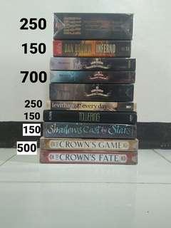 BOOKS FOR SALE 📚
