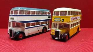 巴士模型  中古  EFE 1:76 LeyLand PD2