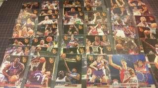 絕版 93-94 FLEER ULTRA 籃球卡 共41張