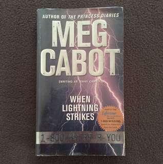 When Lightning Strikes by Meg Cabot