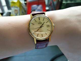 Vintage Omega Geneve Automatic Gold Plated watch