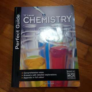O Level Chemistry Guide book