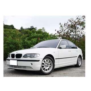 2004年 BMW 318I 全車原鈑件 已認證 全額貸款