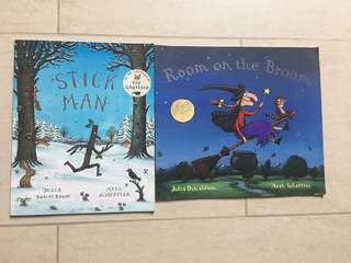 Julia Donaldson's Stick Man / Room on the Broom