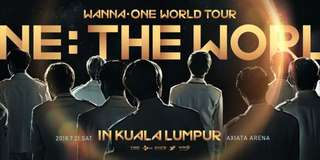 WTS Wanna One World Tour in KL