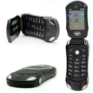 Car basic phone flip