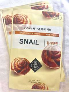 Etude House Snail Face Mask