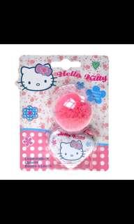 HELLO KITTY Dotty Floral Lipbalm Tin with Pompom Charm
