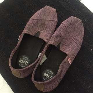 Wakai ungu - purple shoes