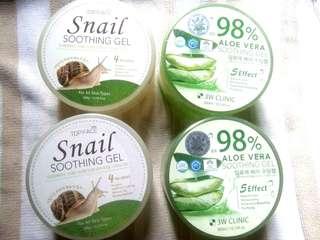Soothing Gel( Snail and Aloe vera)