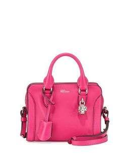 Authentic Alexander McQueen Mini Padlock bag