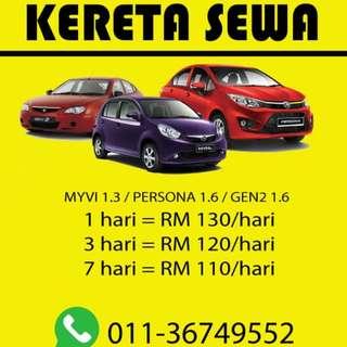 Pesona 1.6 Auto /Gen 2 1.6 Auto/ Myvi 1.3 Auto