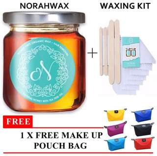 NORAX Wax, Hair removal