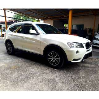 2012 BMW X3 2.0 (A) GOOD CONDITION