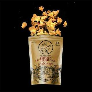 Snack The Golden Duck Gourmet Salted Egg Yolk Potato Chips 125gr
