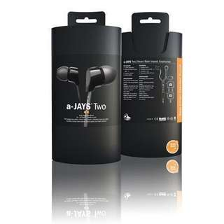 BNIB Ajays Two Earphones