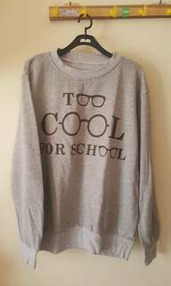 Sweater tumblr too cool for school