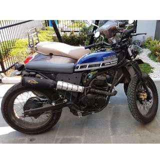 Yamaha Scorpio Custom JapStyle 2nd Murah