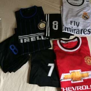3 sets - football jersey